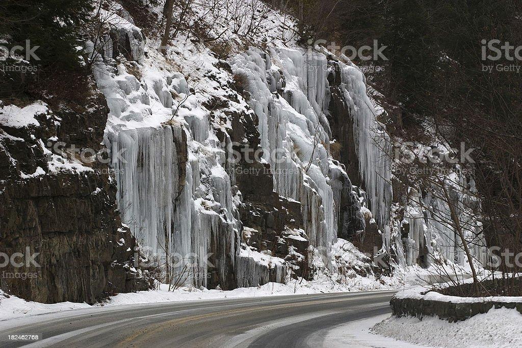 Ice Falls royalty-free stock photo