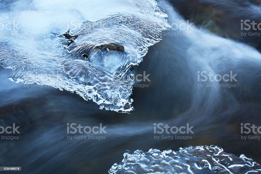 ice fantasy stock photo