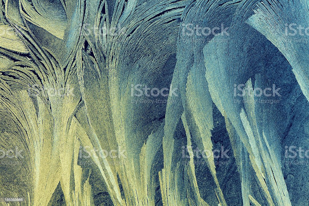 ice flower background royalty-free stock photo