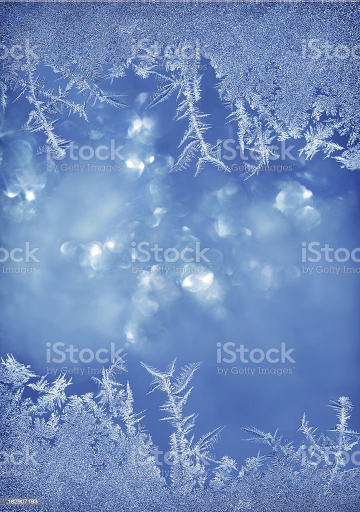 Ice Flower Backgrounds royalty-free stock photo