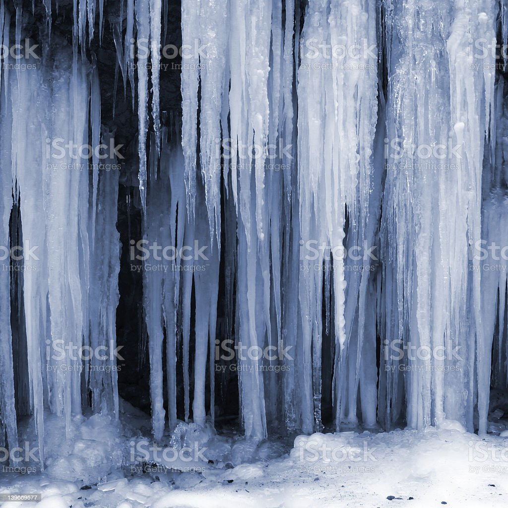 ice formation royalty-free stock photo