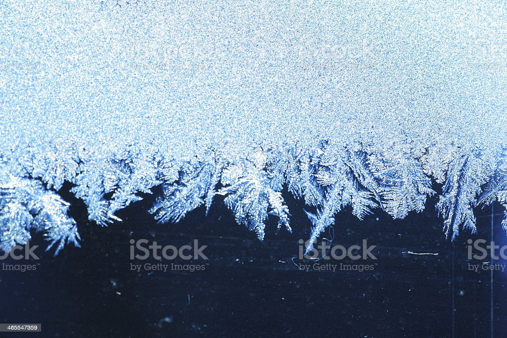 ice frost stock photo