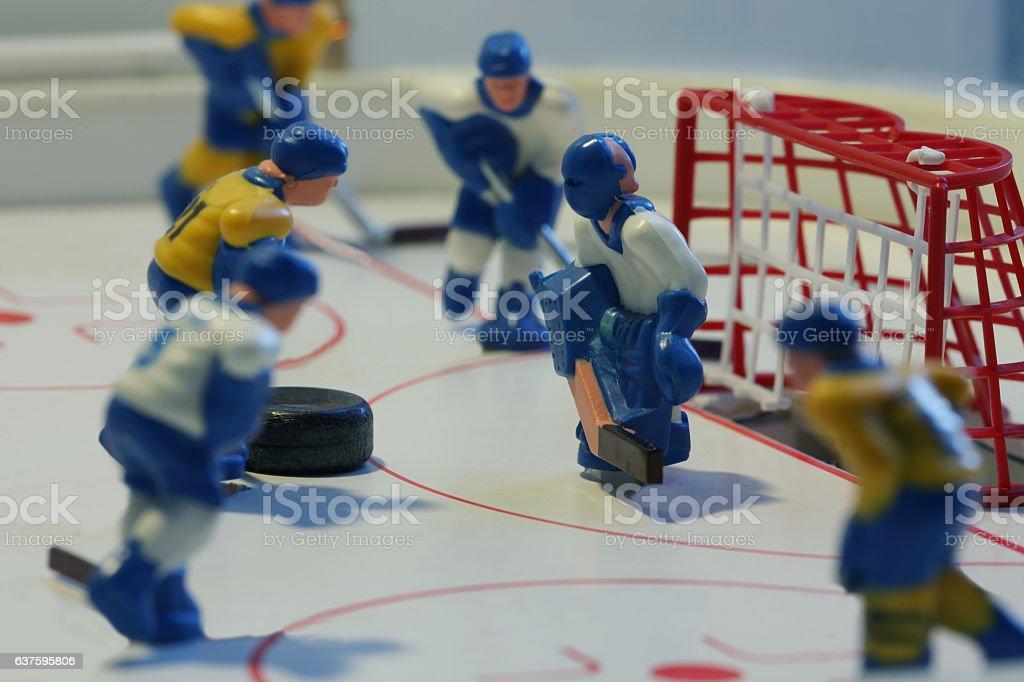 ice hockey attack stock photo