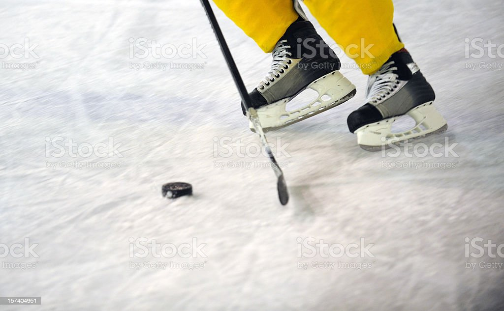 Ice hockey equipment royalty-free stock photo