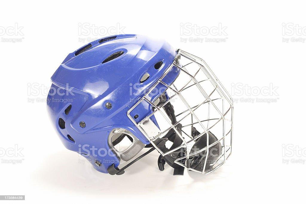 Ice hockey helmet royalty-free stock photo