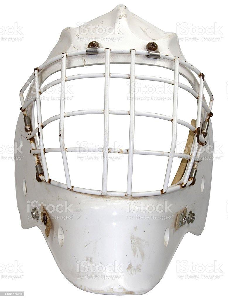 Ice Hockey Mask stock photo