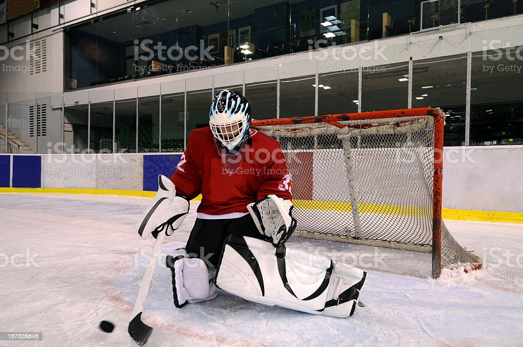 Ice hockey royalty-free stock photo