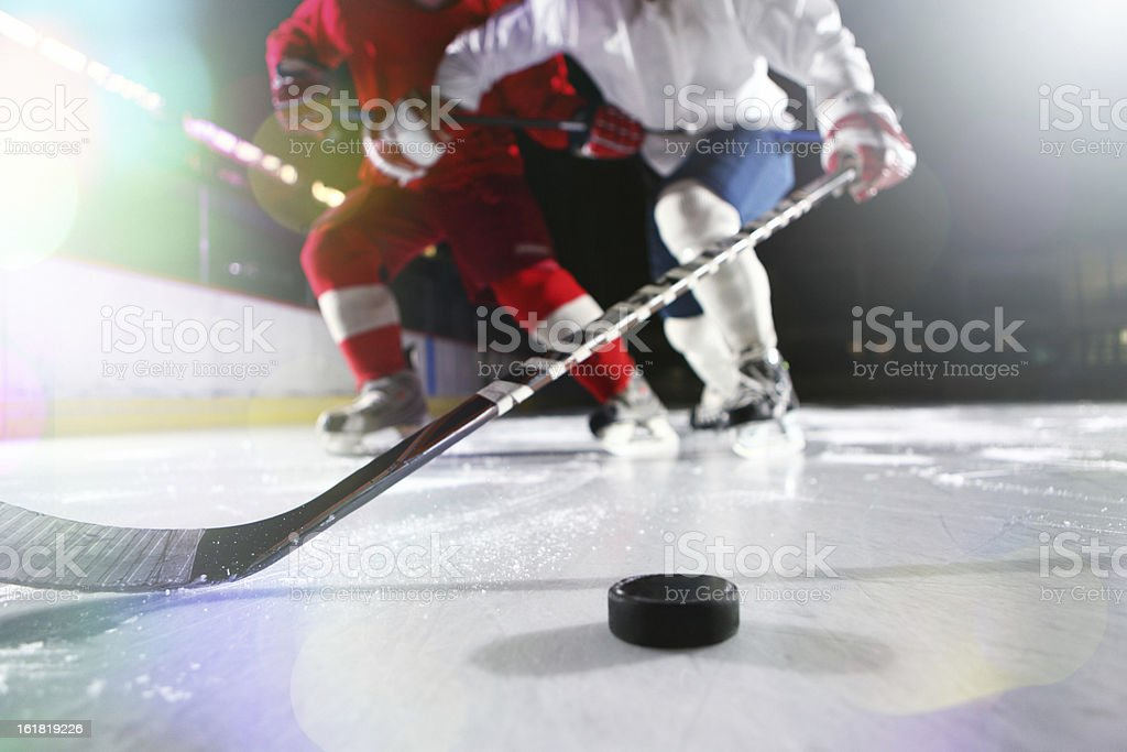 Ice hockey. stock photo