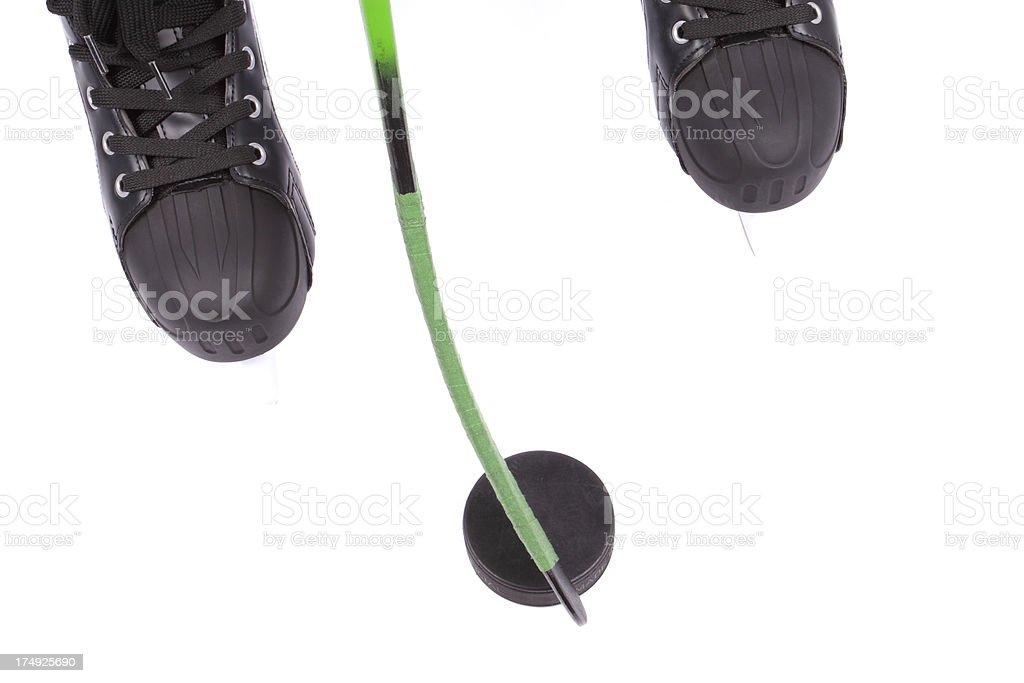 Ice hockey royalty-free stock photo