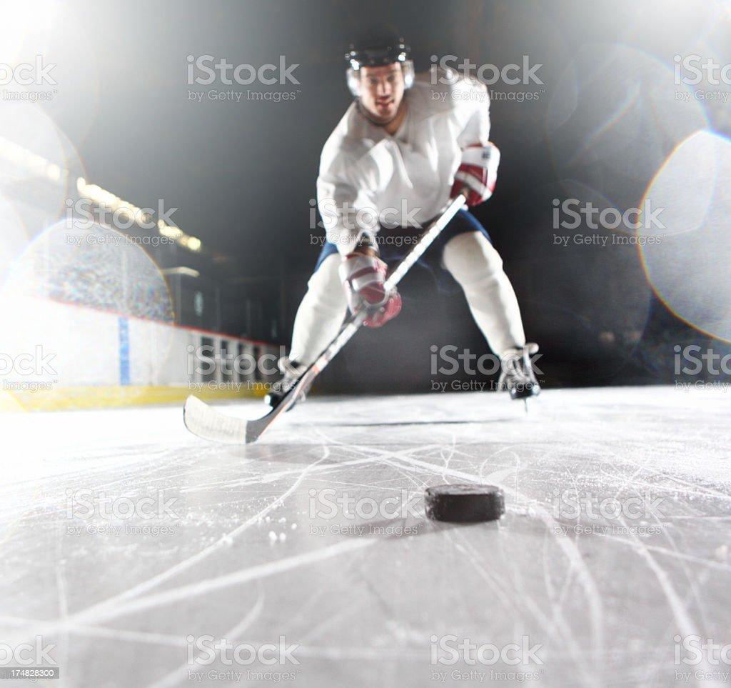 Ice hockey player. royalty-free stock photo
