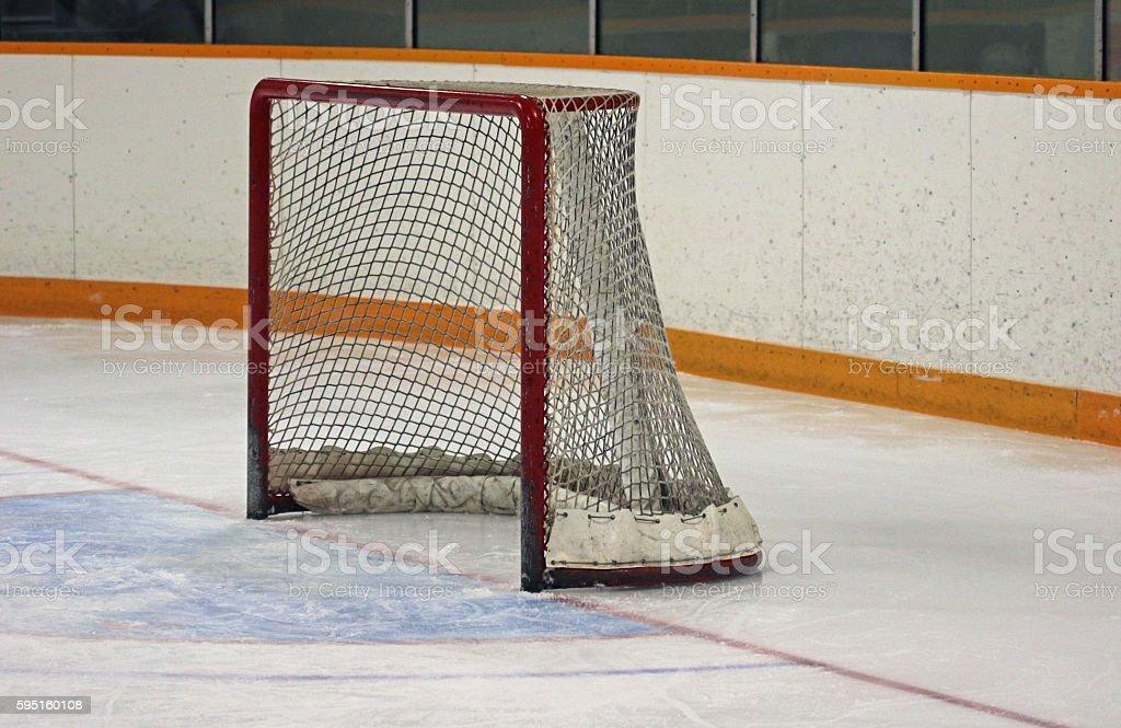 Ice Hockey Side-view stock photo