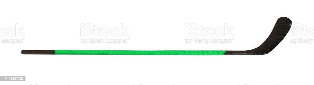 Ice hockey stick stock photo