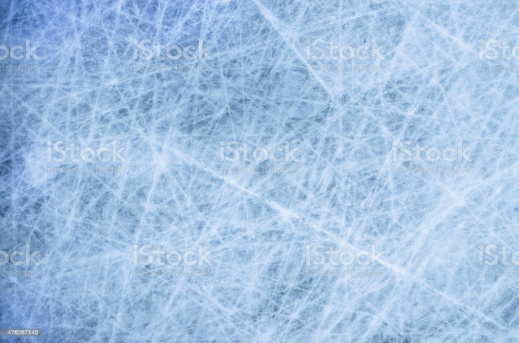 Ice hockey surface stock photo