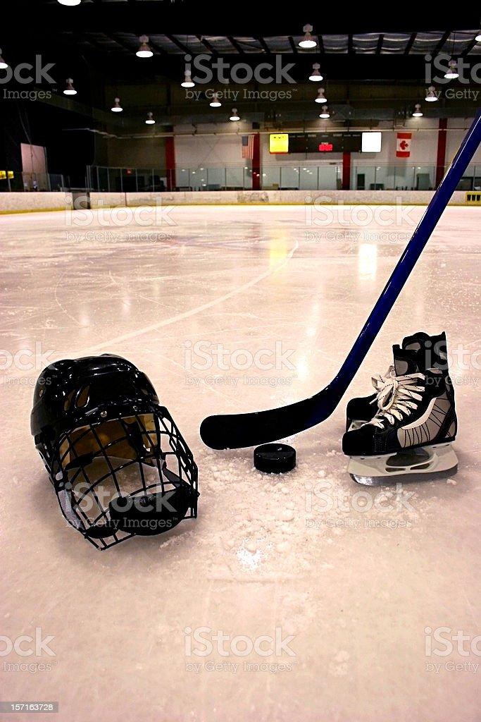 Ice Hockey Vertical stock photo