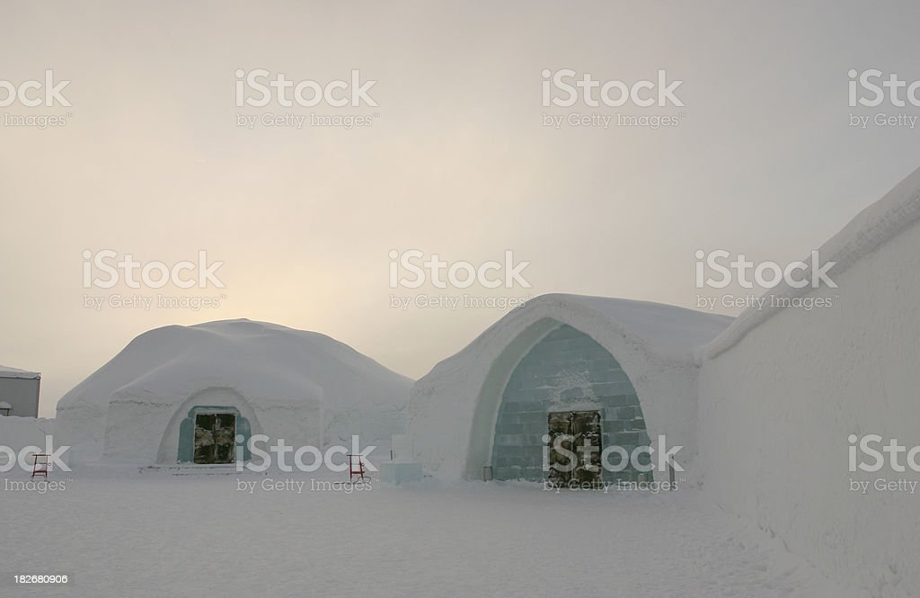 Ice Hotel, Kiruna, Sweden stock photo