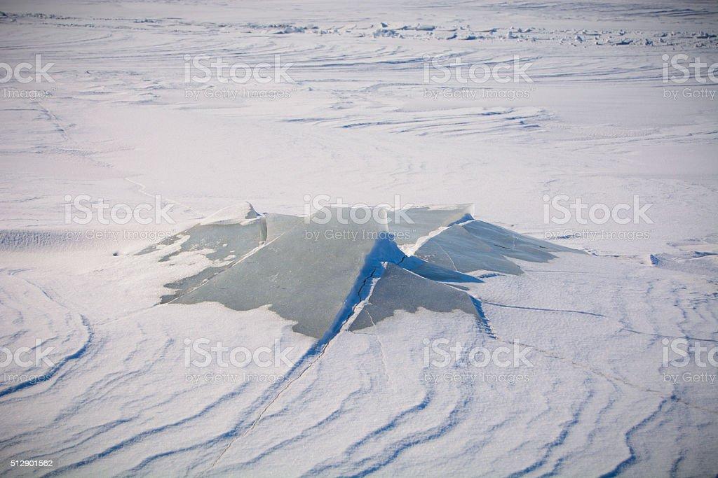Île de glace photo libre de droits