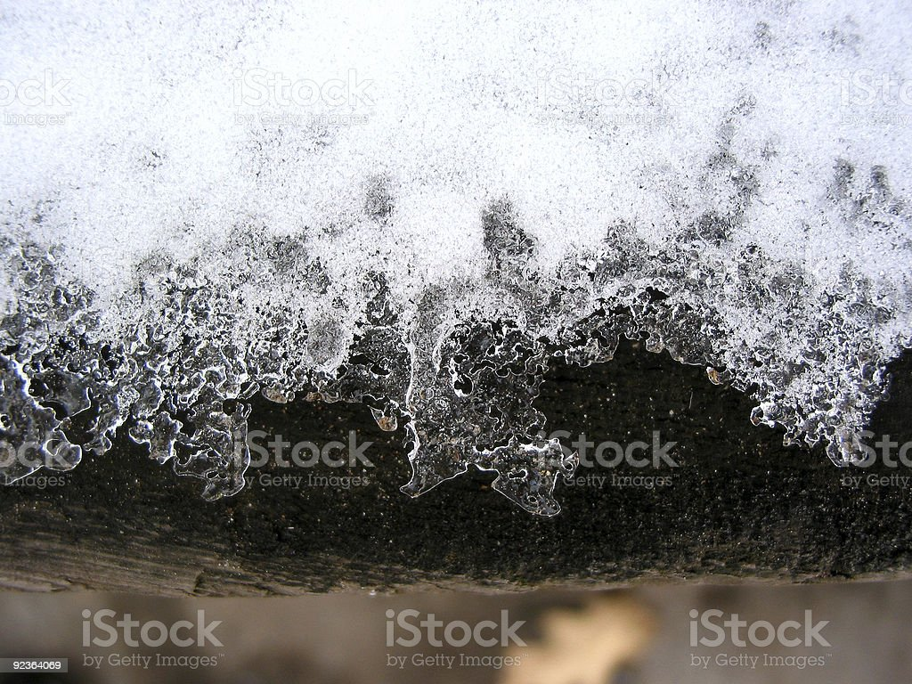 Ice lace royalty-free stock photo