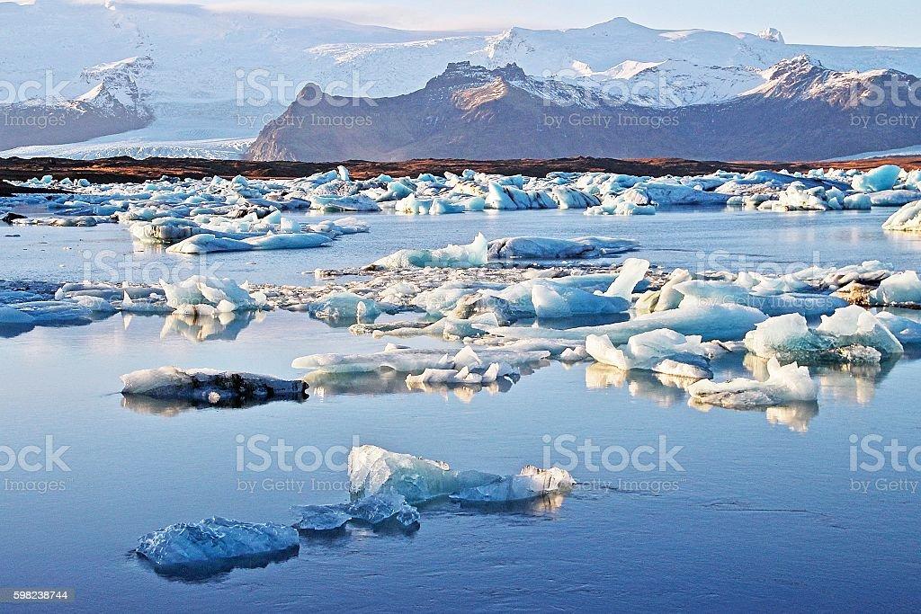 Ice Land stock photo