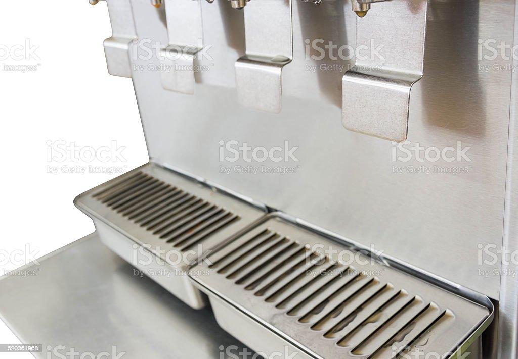 ice maker machine stock photo