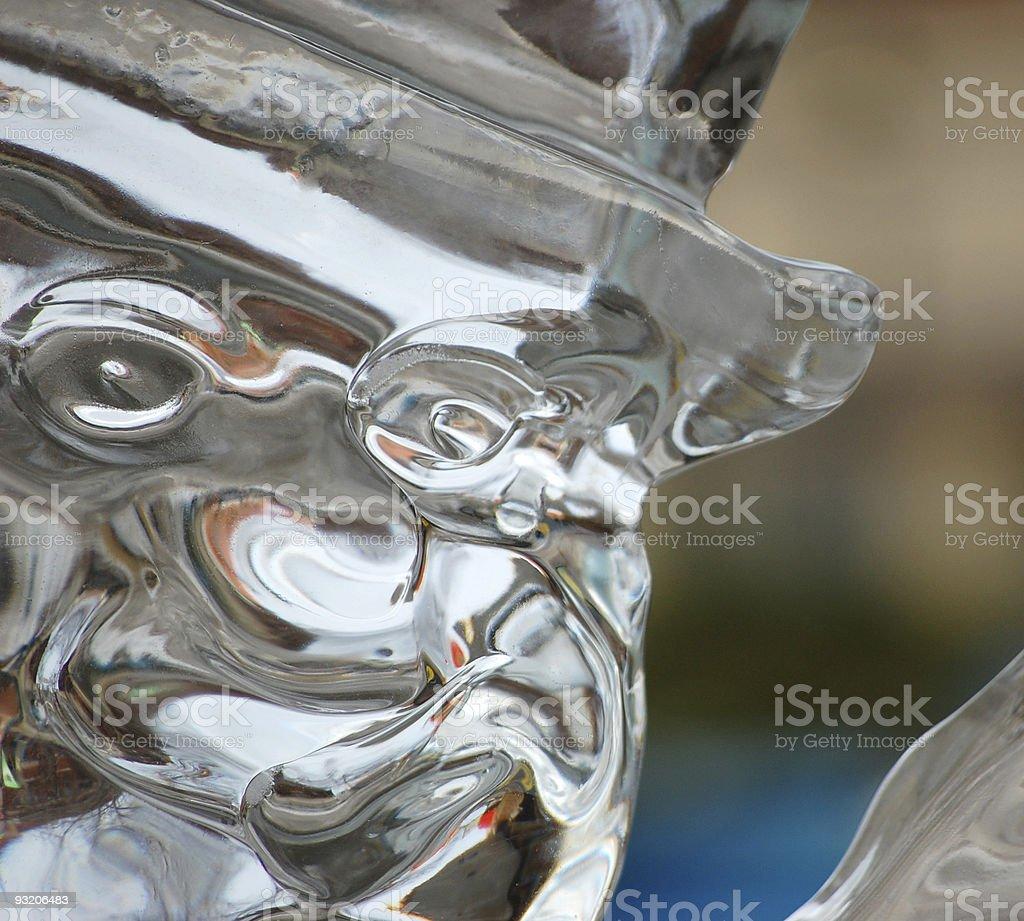 Ice Man stock photo