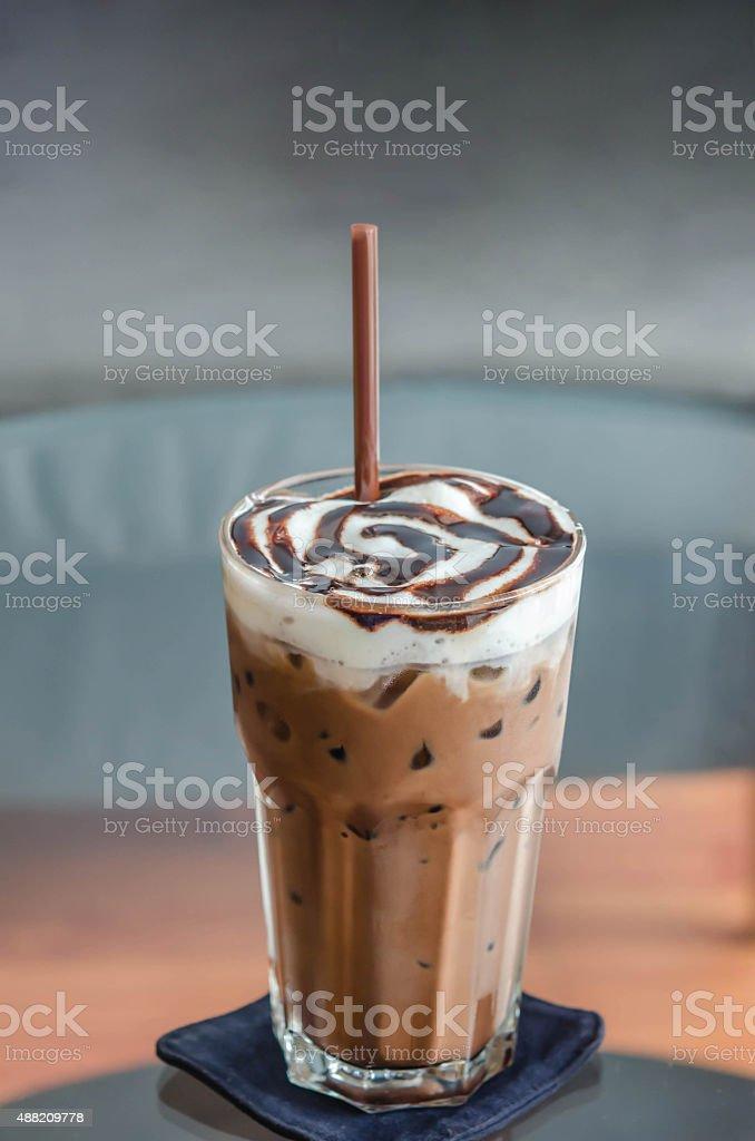 Ice Mocca Coffee stock photo