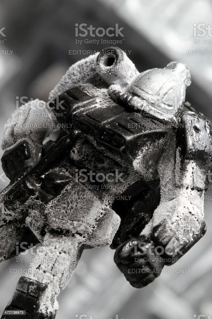 Ice Monster royalty-free stock photo