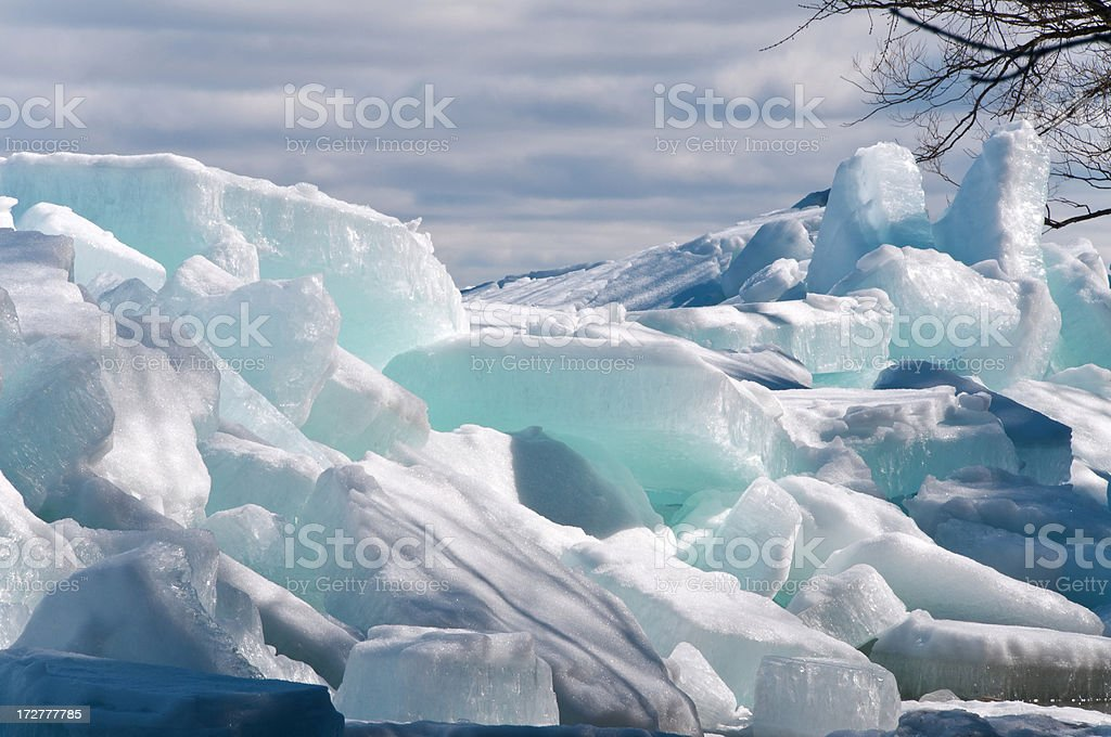Ice out 2 royalty-free stock photo