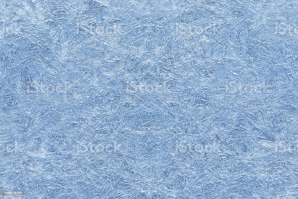 Ice pattern on a water surface. royalty-free stock photo
