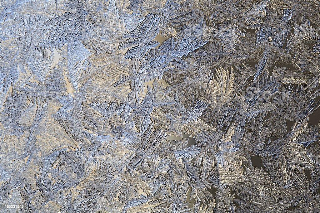 Ice pattern royalty-free stock photo