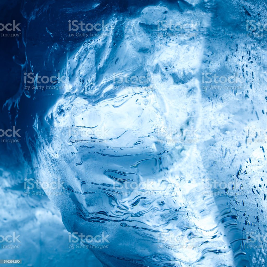 Ice stock photo