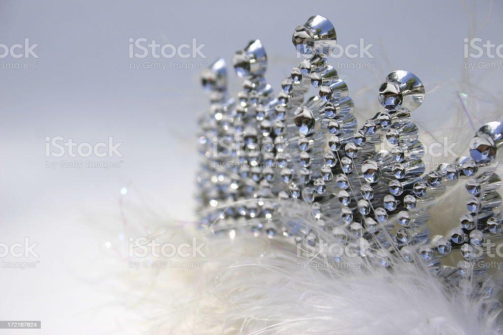 Ice Princess stock photo