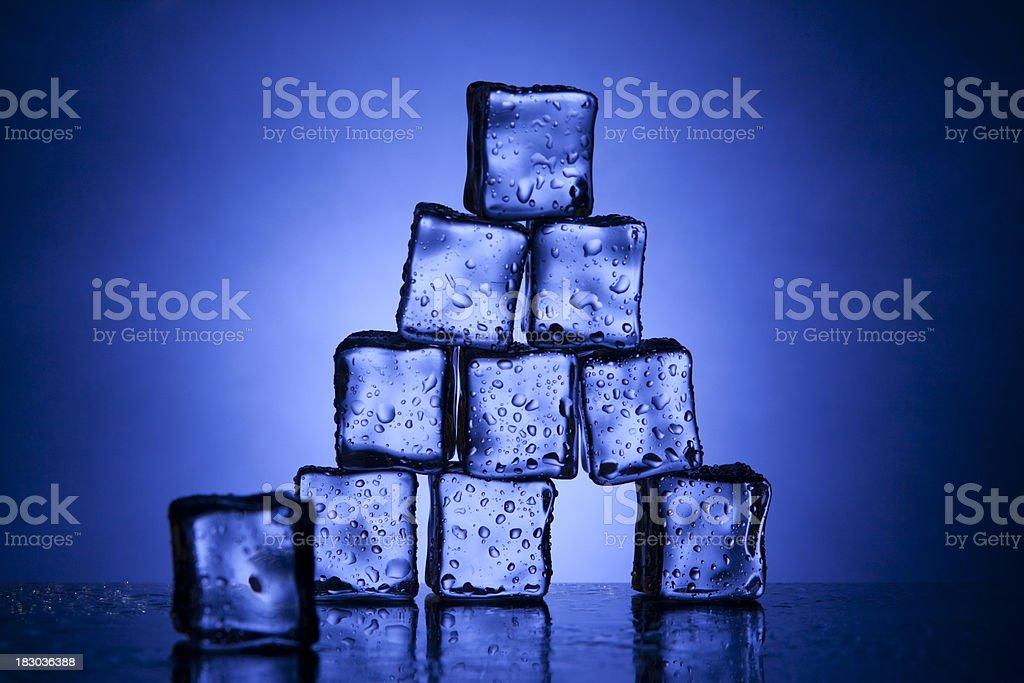 Ice Pyramid royalty-free stock photo