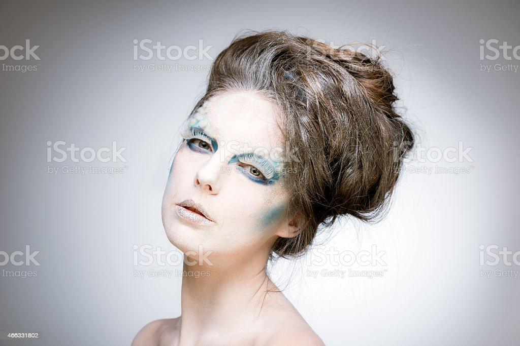Ice Queen stock photo