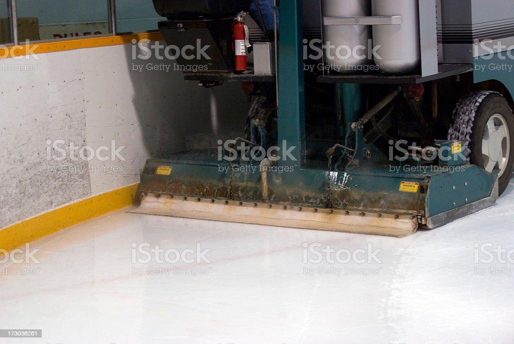 Ice Resurfacing Machine stock photo
