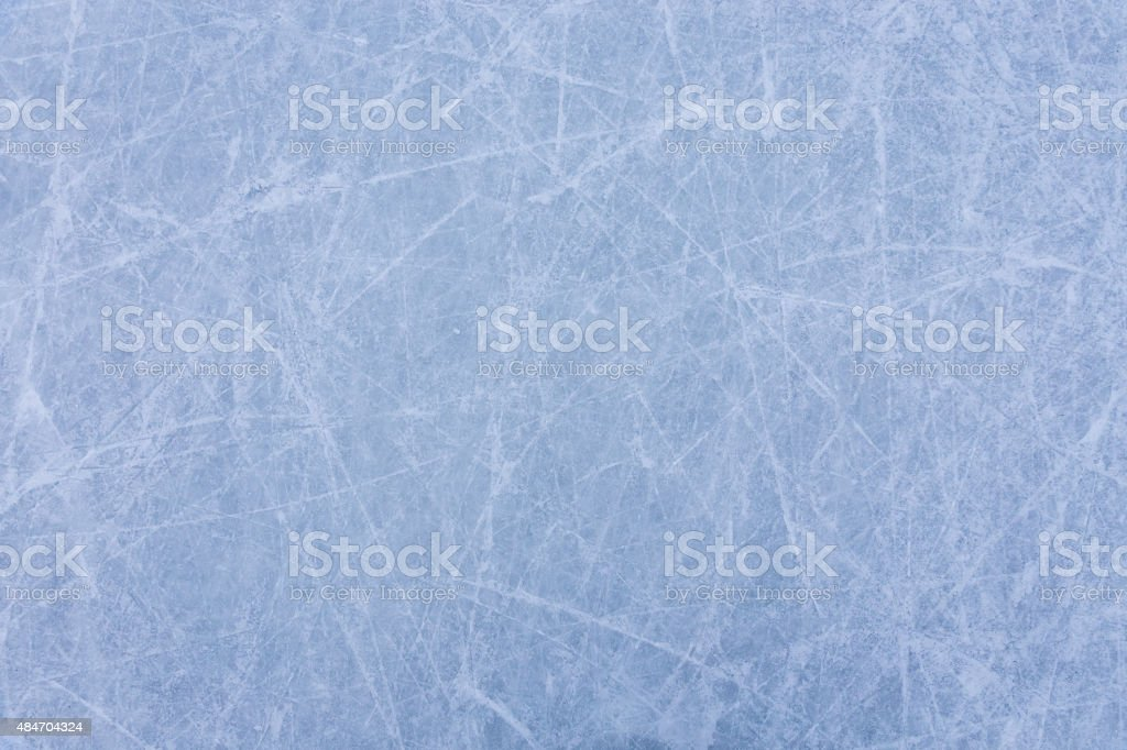 Ice rink texture stock photo
