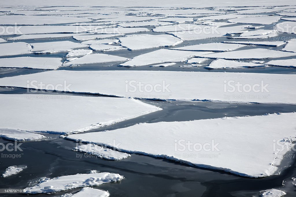 Ice sheets royalty-free stock photo