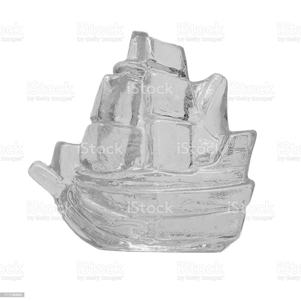ice ship stock photo