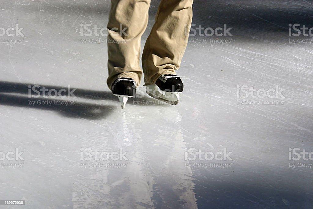 Ice Skater royalty-free stock photo