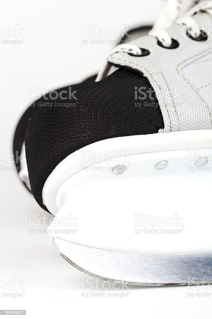 Ice skates - close up royalty-free stock photo