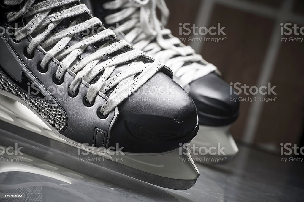 Ice skates royalty-free stock photo