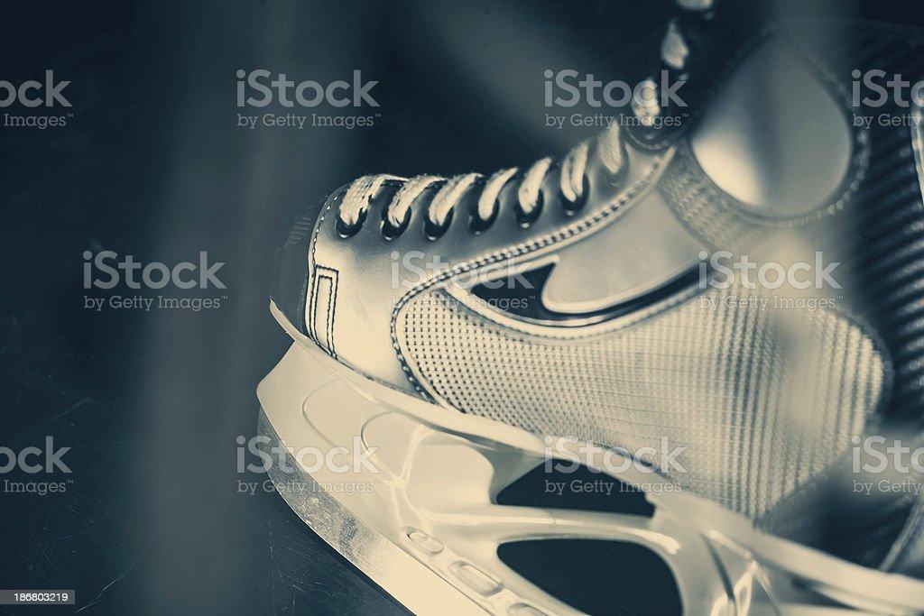 Ice skates royalty-free stock photo