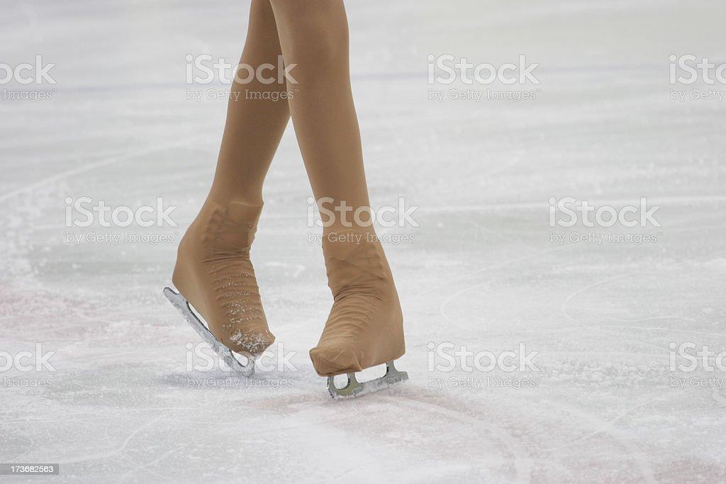 ice skating stock photo