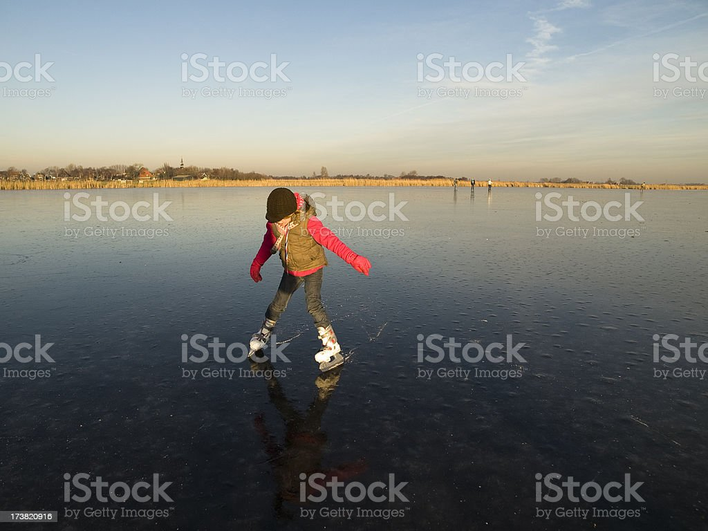 ice skating series royalty-free stock photo