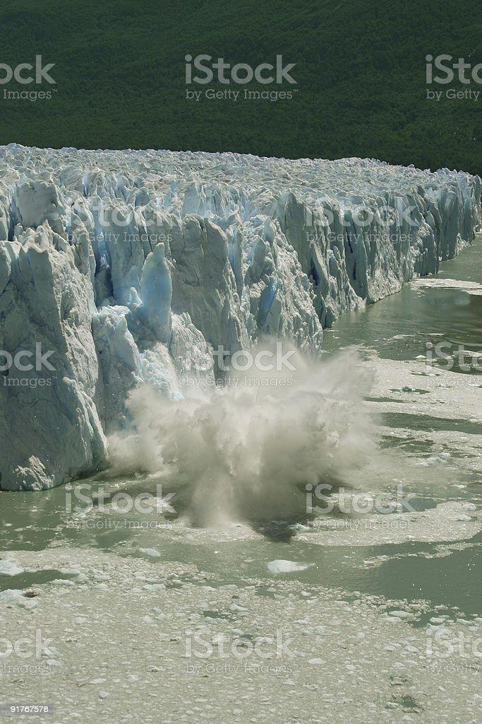 Ice Splashing royalty-free stock photo