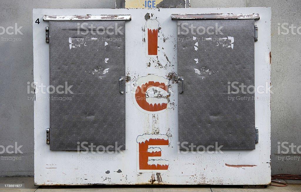 Ice Storage stock photo