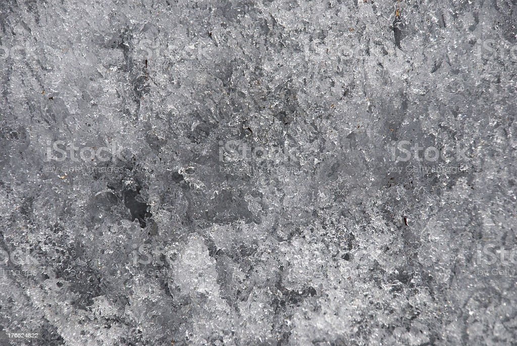 ice structure stock photo