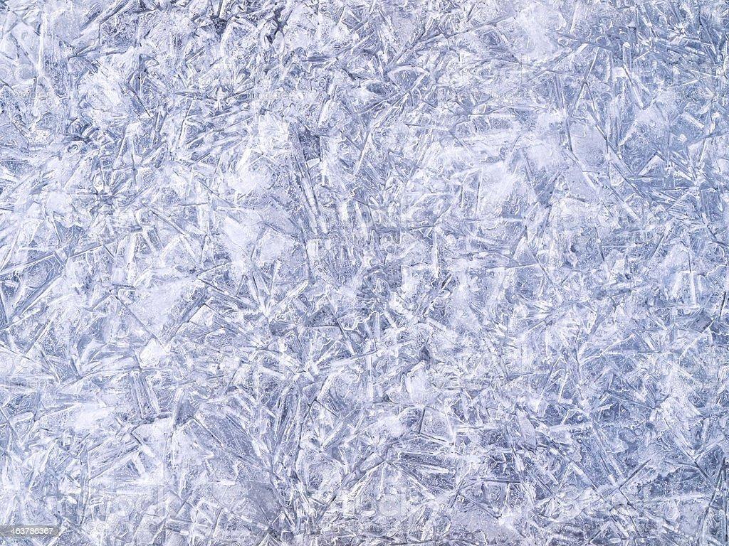 Ice surface stock photo