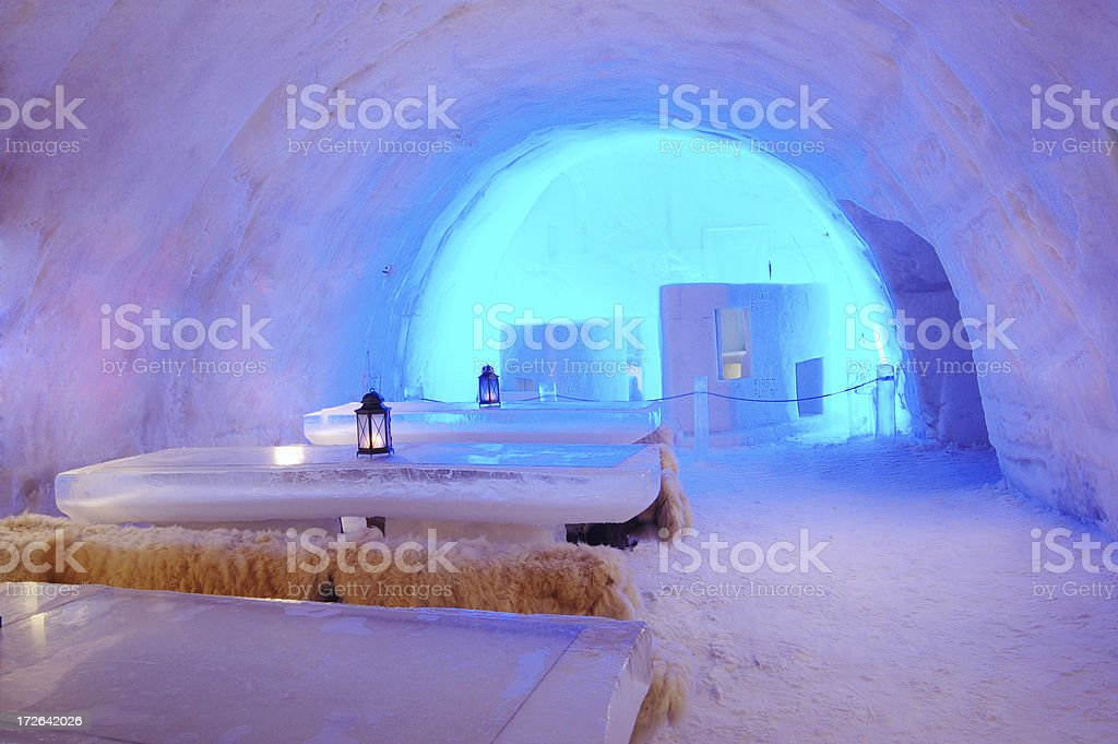 ice table, restaurant royalty-free stock photo
