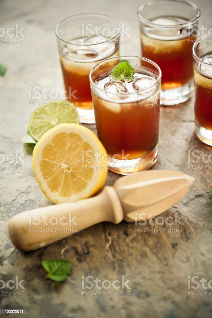 Ice tea stock photo