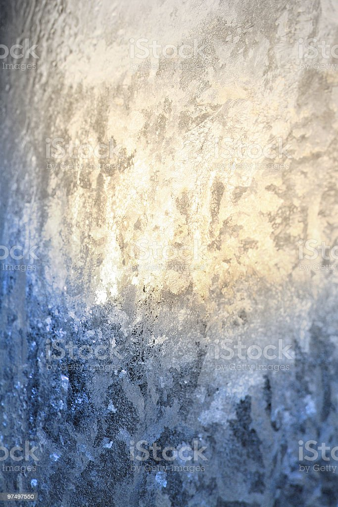 Ice texture royalty-free stock photo